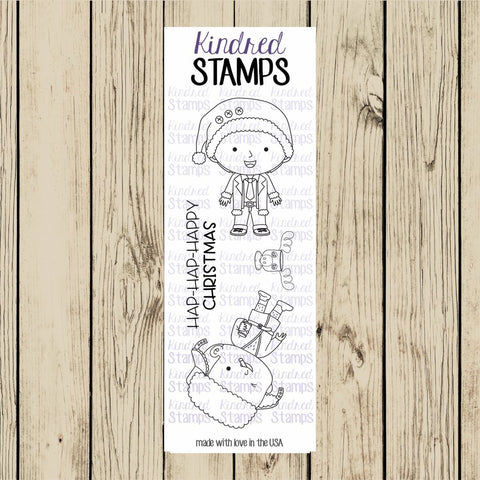 Kindred Stamps - Christmas Chaos, Clear Stamp Set