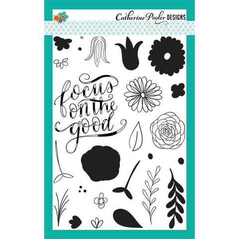Catherine Pooler Stamp Set- Focus on the Good