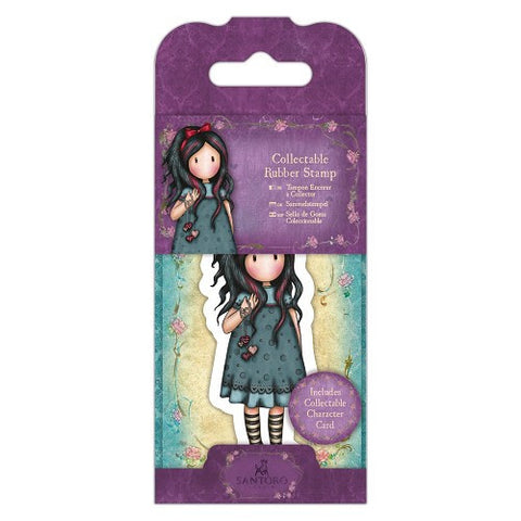 Docrafts Santoro Gorjuss No. 22 PULLING ON YOUR HEART STRINGS Stamp - 7 Kids Your Crafting Supply Store