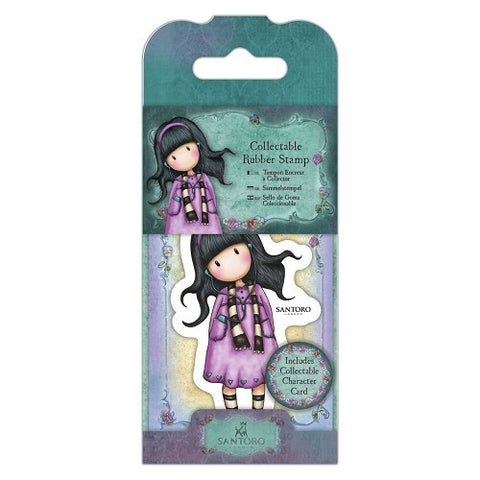 Docrafts Santoro Gorjuss No. 23 LITTLE SONG Stamp - 7 Kids Your Crafting Supply Store