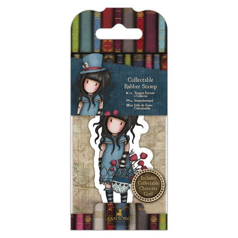 Docrafts Santoro Gorjuss No. 29 THE HATTER Stamp - 7 Kids Your Crafting Supply Store