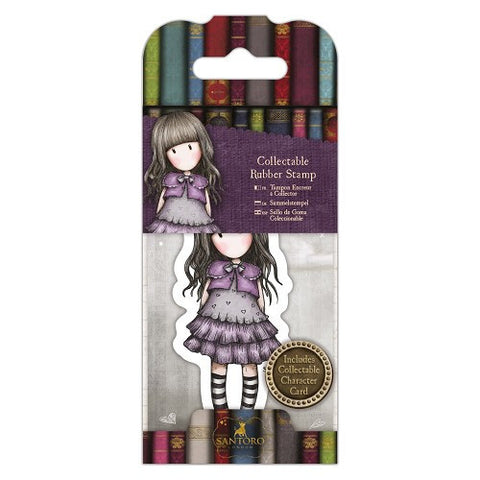Docrafts Santoro Gorjuss No. 32 LITTLE VIOLET Stamp - 7 Kids Your Crafting Supply Store