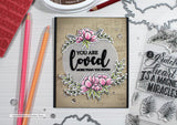 Catherine Pooler Stamp Set - Grateful Heart