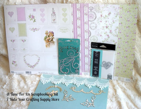 A Time For Us Scrapbooking Kit