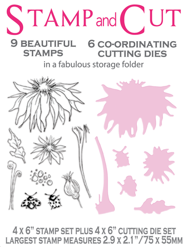 L.D.R.S. Creative - Blooming Bugs, Stamp & Die Kit