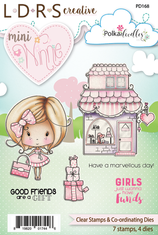 L.D.R.S. Creative -  Mini Winnie Boutique, Stamp & Die Set