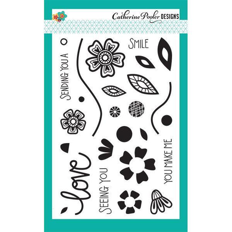 Catherine Pooler Stamp Set - Love Grows