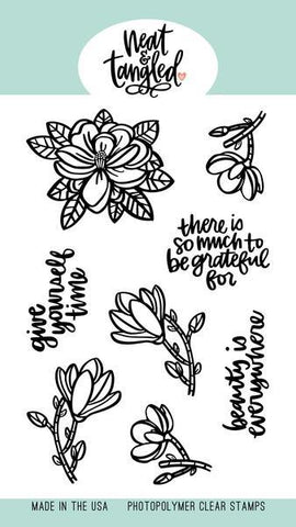 Neat & Tangled - Magnolia, Clear Stamp Set