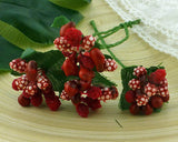 Pre Order Wild Orchid Bead Berry Spray Clusters - 7 Kids Your Crafting Supply Store