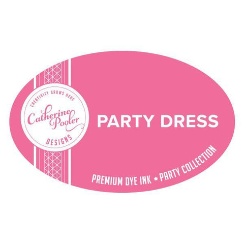 Catherine Pooler Designs -  Party Collection: Life of the Party, Party Dress Ink Pad