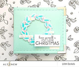 Altenew - Stamp & Die Bundle, Peaceful Wreath