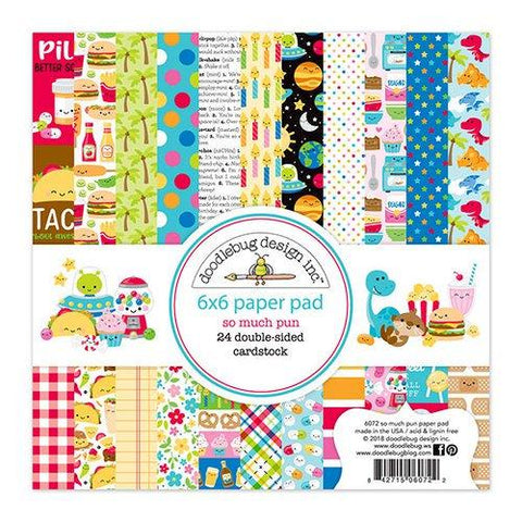 Doodlebug Design So Much Pun- 6 x 6 Paper Pad