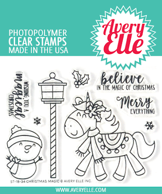 Avery Elle - Clear Stamps, Christmas Magic