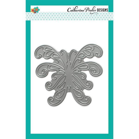Catherine Pooler Die- Scroll Butterfly
