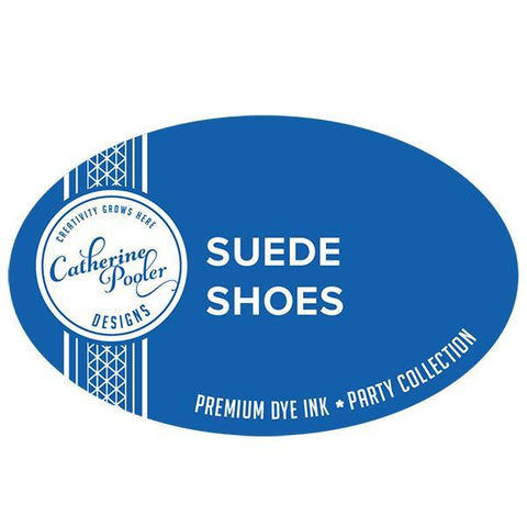 Catherine Pooler Designs -  Party Line, Suede Shoes