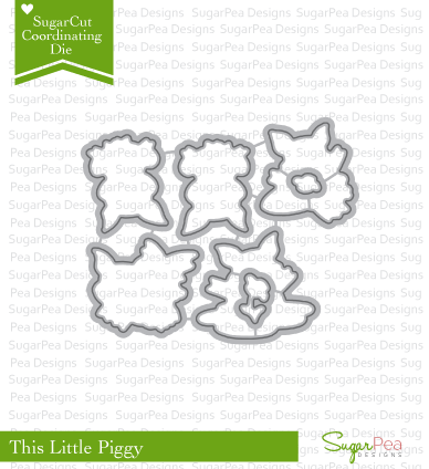 Sugar Pea Designs-This Little Piggy sugarcut