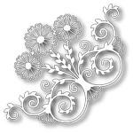 Tutti Designs - Pop Out Flower Corner, Metal Die