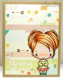 The Greeting Farm Clear Stamp Set-Cutesy Anja