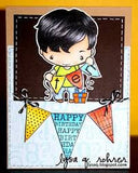 The Greeting Farm Rubber Stamp-Birthday Ian