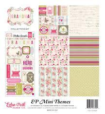 Echo Park Grandma-12x12 Collection Kit