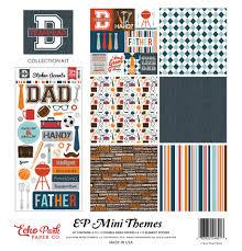 Echo Park Team Dad 12x12 Collection Kit