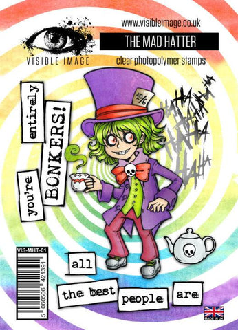 Visible Image - The Mad Hatter Stamp