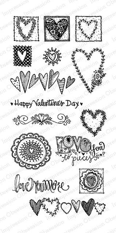 Impression Obsession, Inc Stamp- Love You More