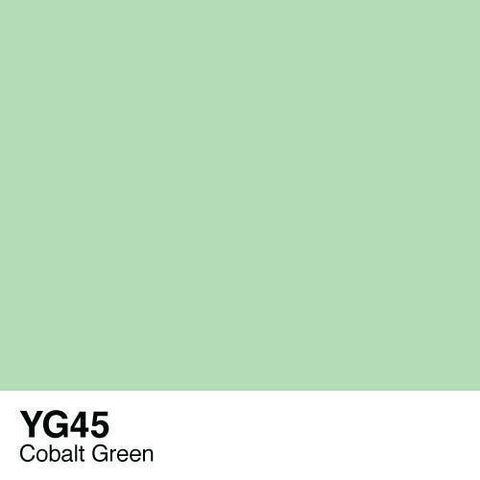 Copic Sketch Marker-YG45 Cobalt Green