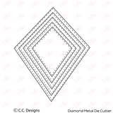 C.C. Designs Diamond Metal Die