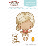 The Greeting Farm Clear Stamp Set-For You Anja