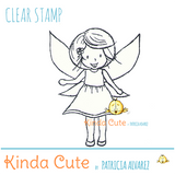 Kinda Cute by Patricia Alvarez-Clear Stamp Happy Fairy