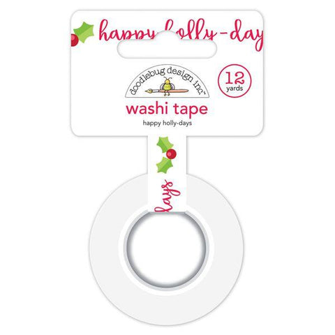Doodlebug Design  - Washi Tape, Happy Holly-Days