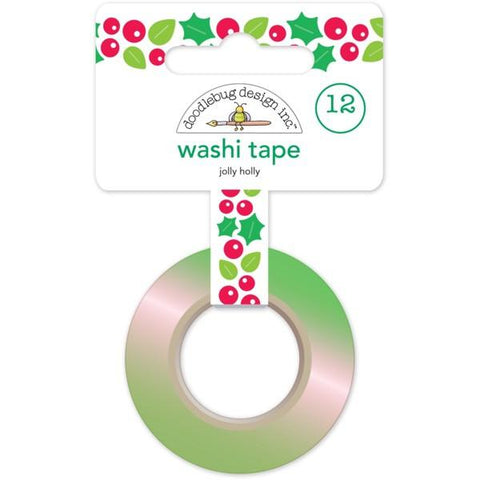 Doodlebug Design  - Washi Tape, Jolly Holly