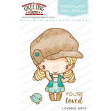 The Greeting Farm Clear Stamp Set-Lovable Anja
