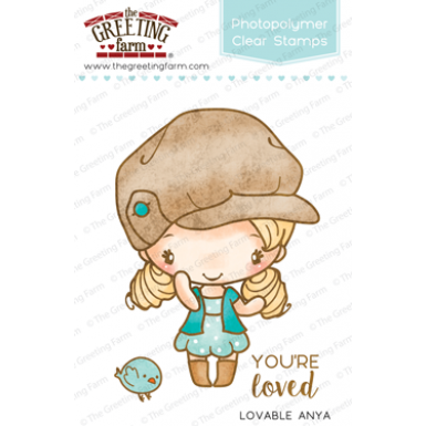 The Greeting Farm Clear Stamp-Lovable Anya