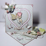 Vilda Stamps Fairy With Heart