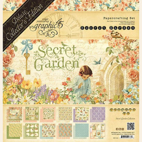 Graphic 45-Deluxe Collector's Addition, Secret Garden