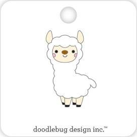 Doodlebug Designs Collectible Enamel Pin- Llama
