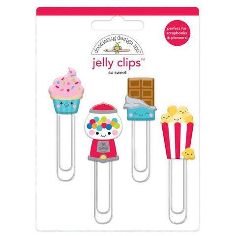 Doodlebug Designs - Jelly Clips, So Sweet