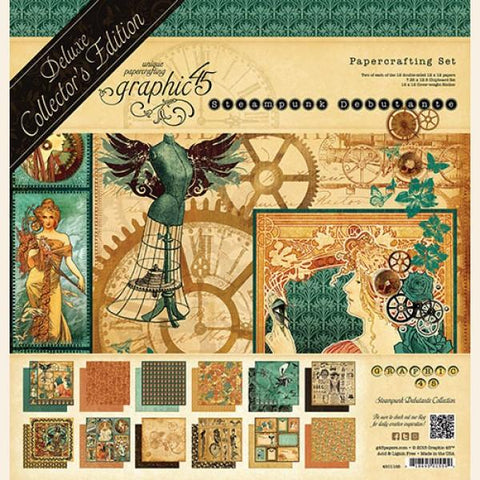 Graphic 45-Deluxe Collector's Addition, Steampunk Debutante