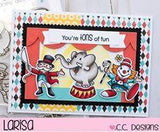 C.C. Designs - Circus, Clear Stamp Set