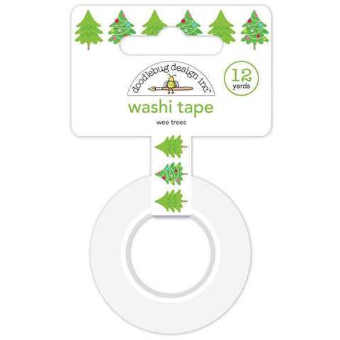 Doodlebug Design  - Washi Tape, Wee Trees