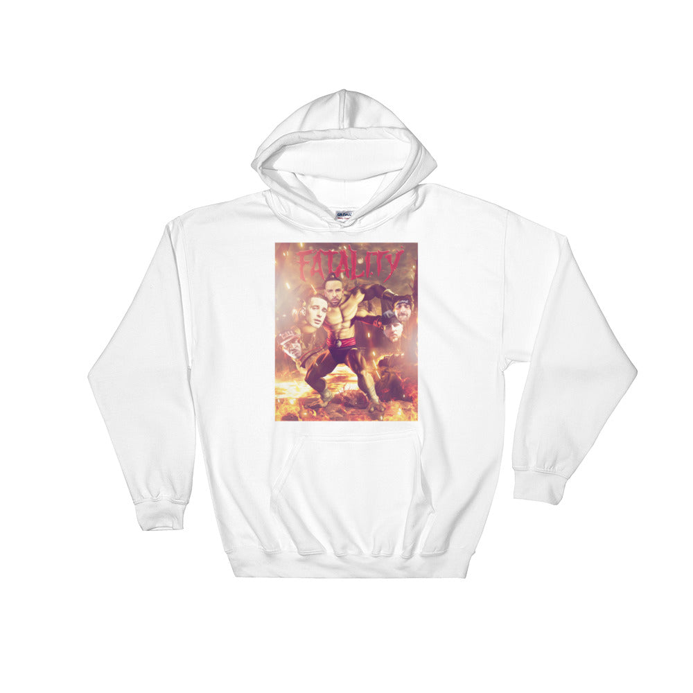 Fatality White Hoodie