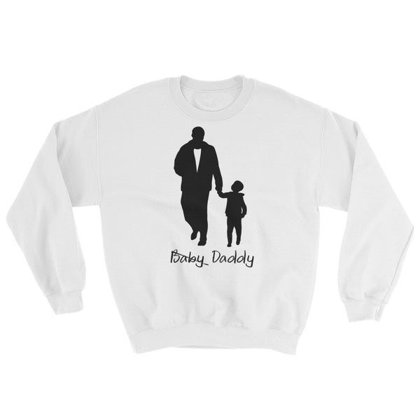 Baby Daddy White Crewneck