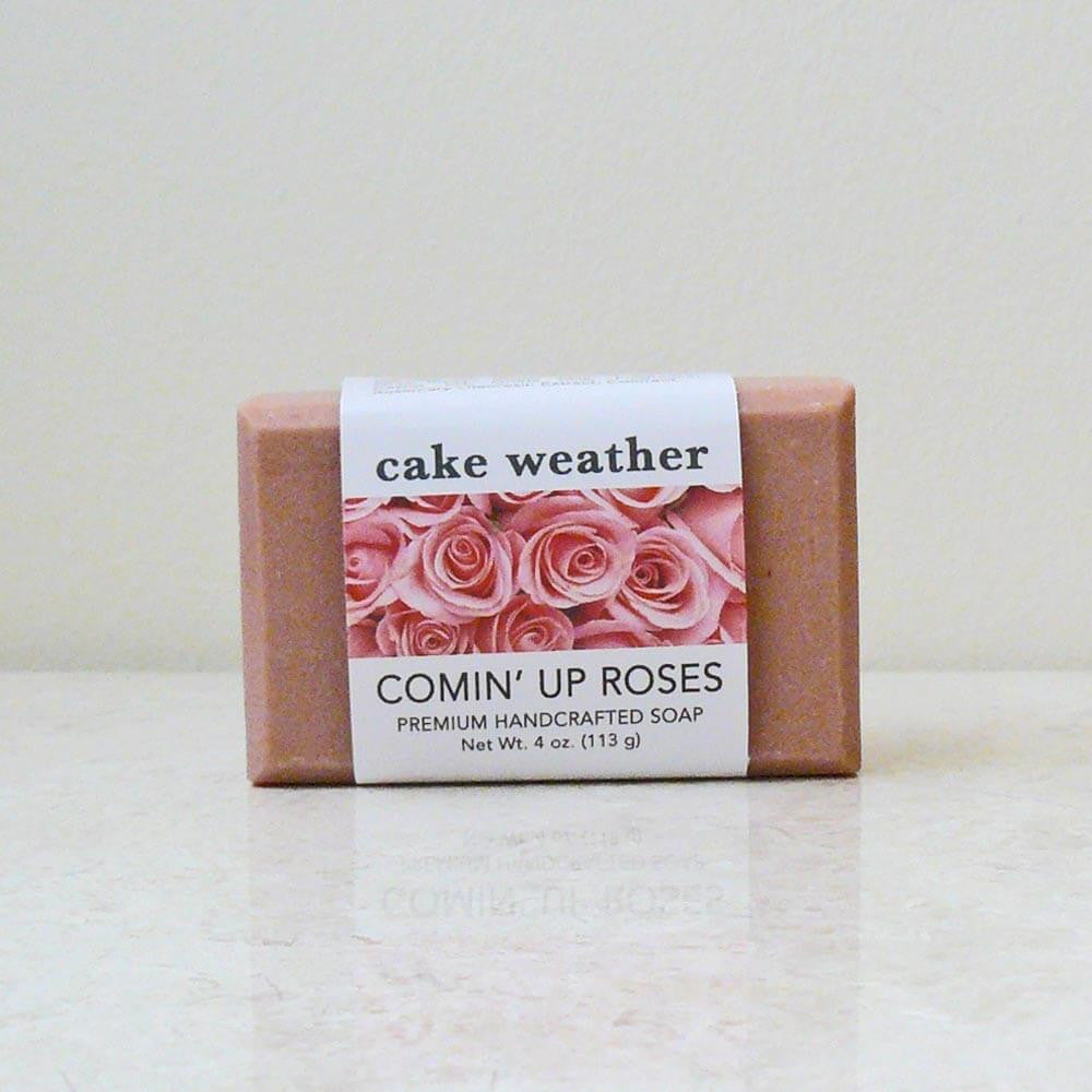 COMIN' UP ROSES - Rose & Cream Soap