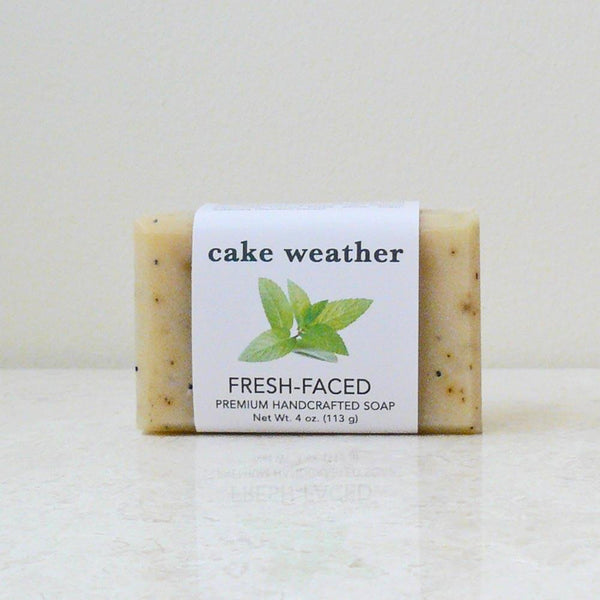 FRESH-FACED - Tea Tree + Mint Clarifying Natural Soap
