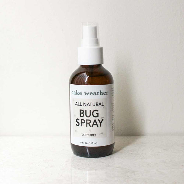 NATURAL BUG SPRAY - DEET-Free Insect Repellent