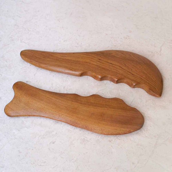 GUA SHA TOOL - Sandalwood Facial Massager
