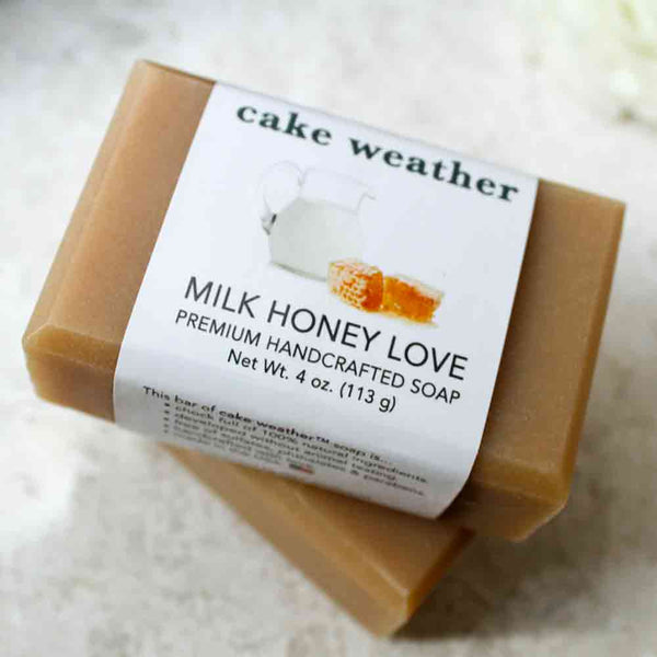 MILK HONEY LOVE - Nourishing Natural Soap