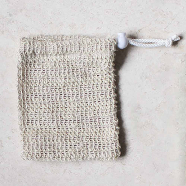 SISAL SOAP SAVER - Natural Exfoliating Pouch
